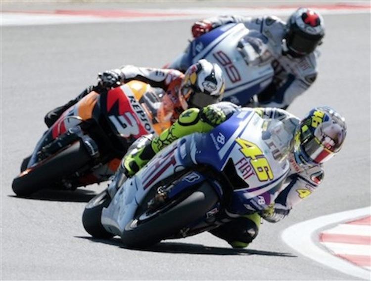 Superbike Racing, Valentino Rossi, Jorge Lorenzo, Daniel Pedrosa