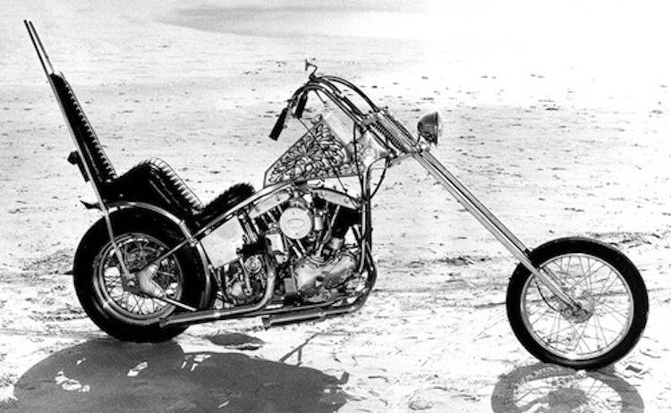 Chopper beach, custom chopper beach