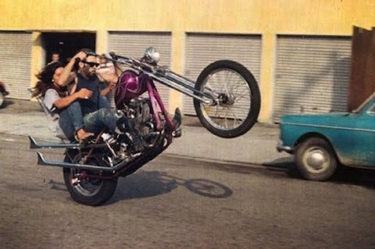 chopper wheelie