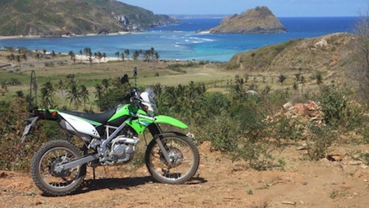Dirtbike Island, Dirtbike riding on an island, dirt bike beach