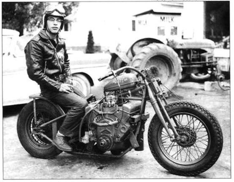 Vintage V8 Motorcycle, Vintage Motorcycle