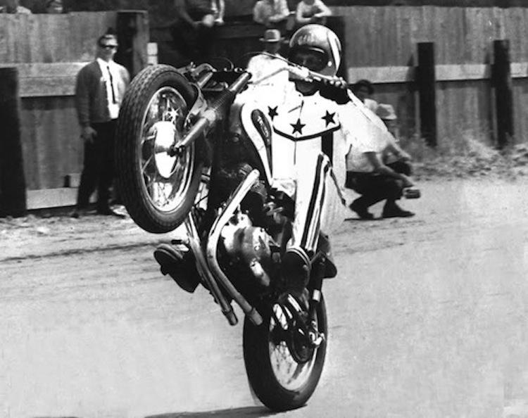 Evel Knievel, Wheelie