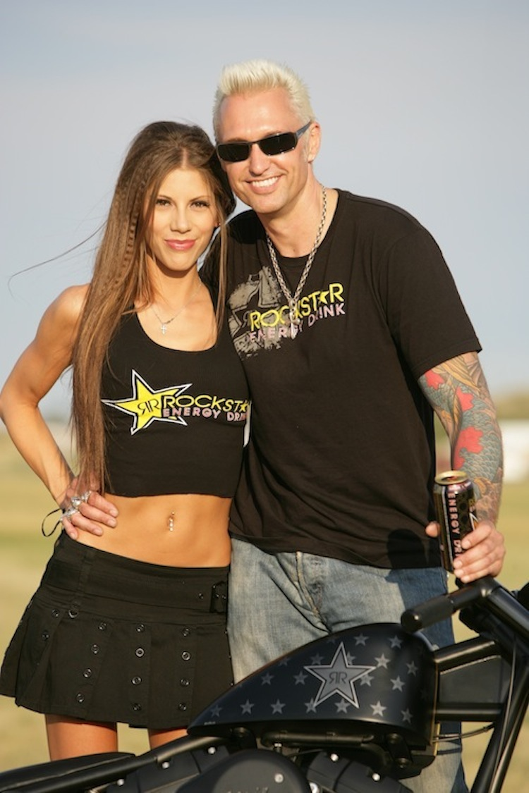 Exile Motorcycles, Russell Mitchell, Flat Black, Custom motorcycle, Twin Cam harley, Steve Kelly Photography, rockstar energy