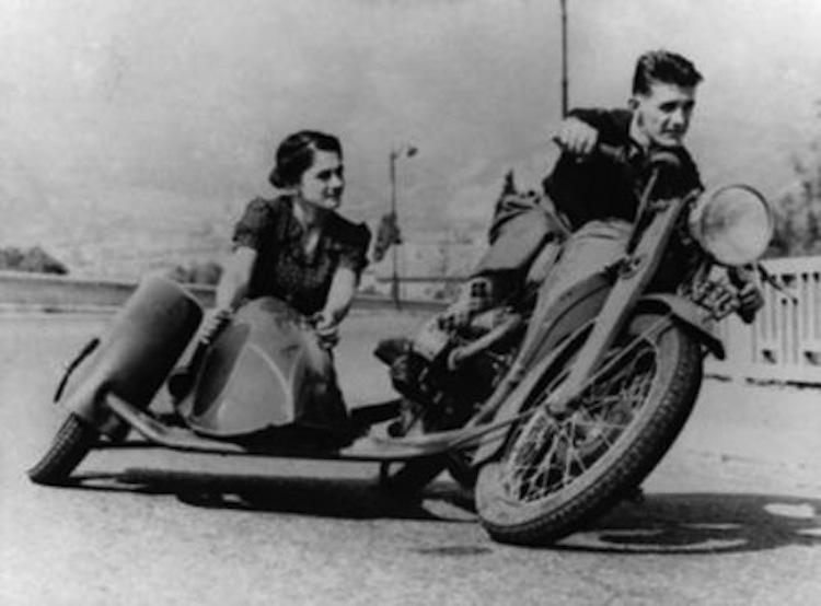 sidecar racing, vintage sidecar