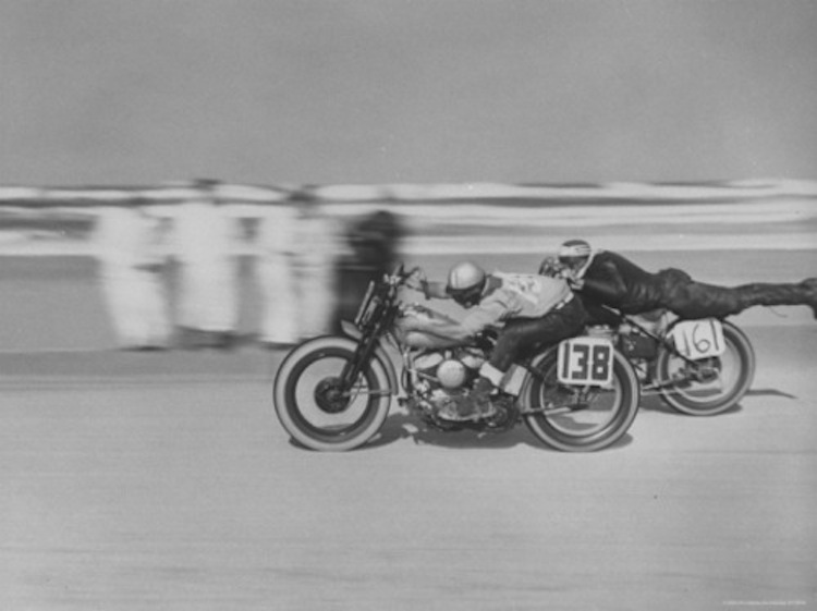 Vintage Motorcycle Beach Race, vintage motorcycle racing