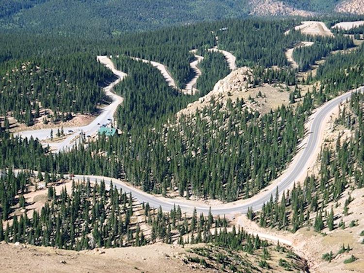 Pikes Peak Highway, motorcycle road, best motorcycle road