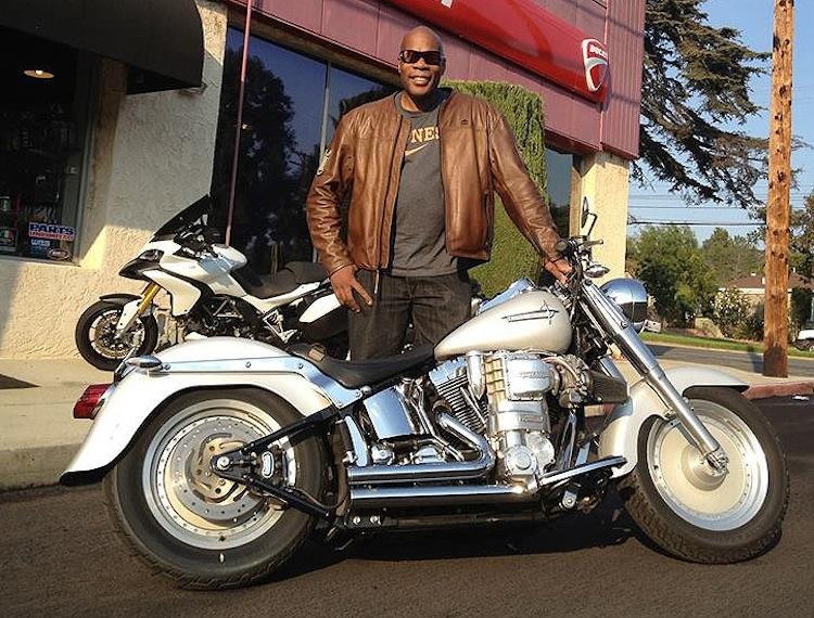 Aonzo Bodden, Harley Fatboy