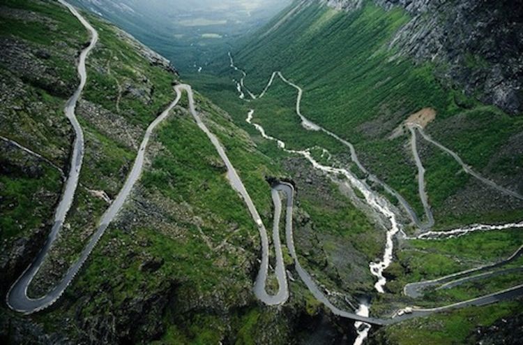 Trollstigen, motorcycle road, best motorcycle road