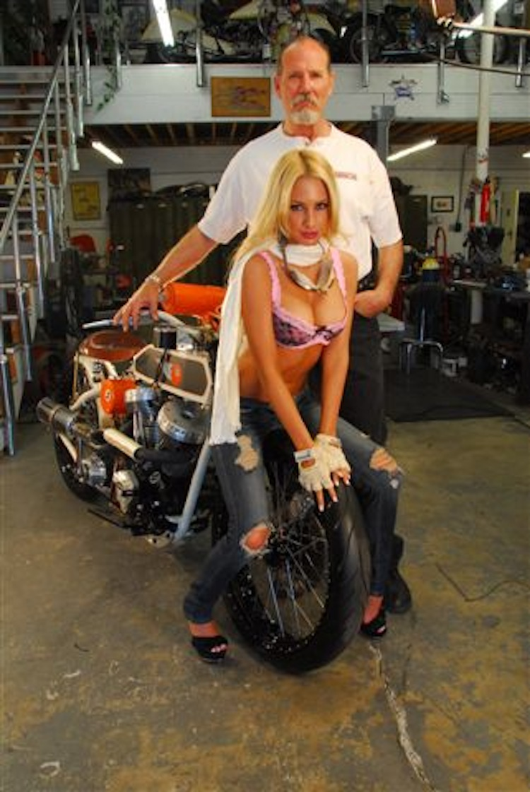 "Keith ""Bandit"" Ball, Bikernet, choppers, custom choppers, custom harley"