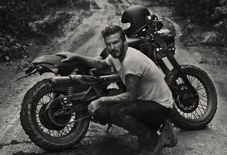 #intotheunknown, #davidbeckham, #triumph, #amazon