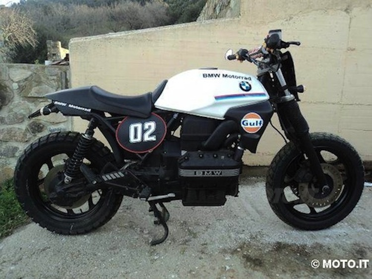 k75 BMW, BMW, vintage BMW, Beemer, custom beemer, custom BMW, vintage BMW