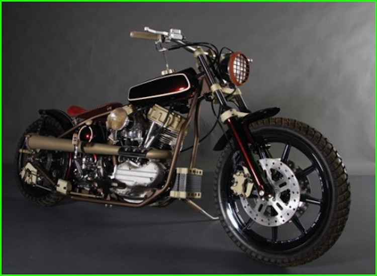 custom motorcycle, Kirk taylor, custom design studios