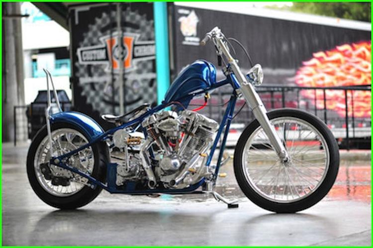 Johnny Chop, custom motorcycle, Kirk taylor, custom design studios