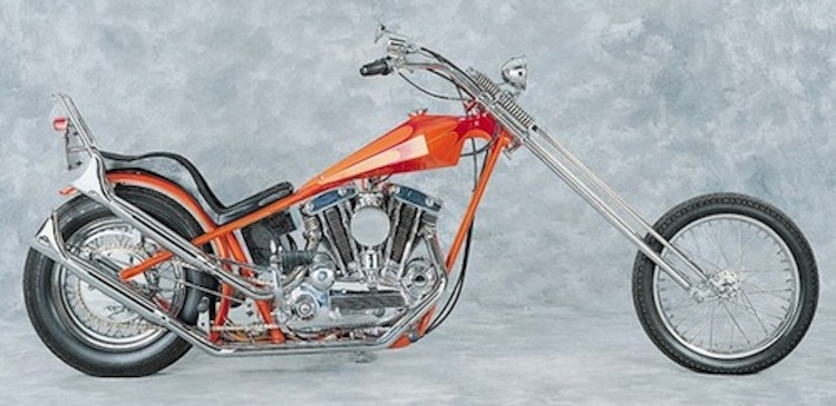 4E2W, Long Bike, chopper, digger, custom chopper, vintage chopper, vintage motorcycle