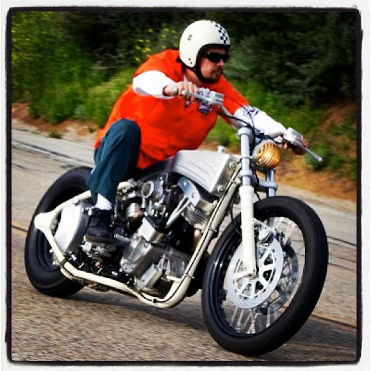Gard Hollinger LA County Choprods And Arch Motorcycles
